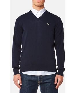 Men's Vneck Jumper