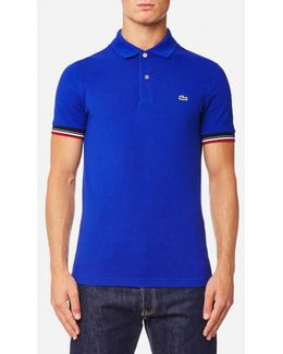 Men's Tipped Sleeve Polo Shirt