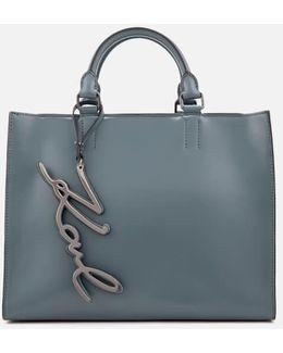 Women's K/metal Signature Shopper Bag