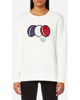 Women's French Macarons Sweatshirt