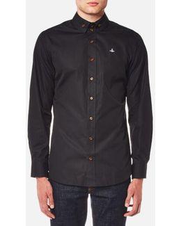Men's Firm Poplin Two Button Krall Shirt
