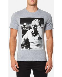 Men's Close Up Tshirt
