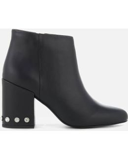 Women's Jules I Leather Heeled Ankle Boots