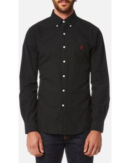 Men's Garment Dye Oxford Shirt