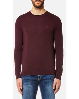 Men's Merino Wool Crew Neck Jumper