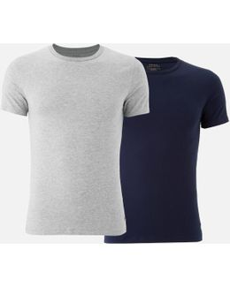 Men's 2 Pack Crew Neck Tshirts