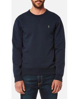 Men's Double Knitted Crew Neck Sweatshirt