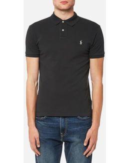 Men's Slim Fit Mesh Polo Shirt