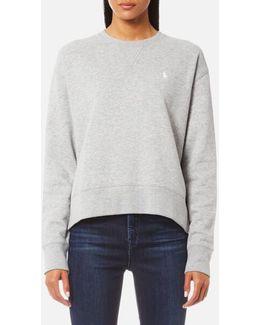 Women's Long Sleeve Crew Sweatshirt
