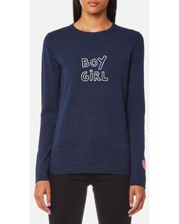 Women's Boy Girl Jumper