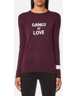 Women's Gangs Of Love Jumper