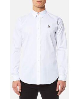 Men's Zebra Logo Long Sleeve Shirt