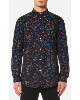 Men's All Over Print Long Sleeve Shirt