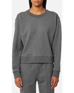 Women's Dry French Terry Long Sleeve Tie Back Sweatshirt