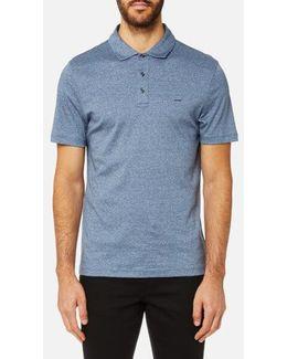 Men's Liquid Jersey Short Sleeve Polo Shirt