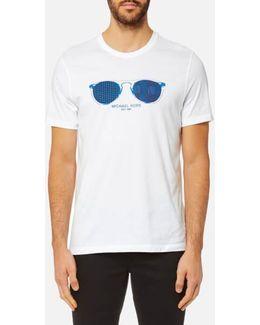 Men's Houndstooth Aviator Graphic Tshirt