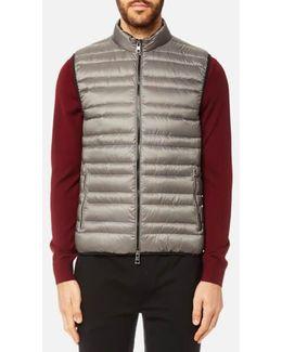 Men's Channel Quilted Vest