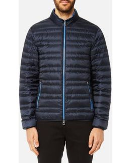 Men's Channel Quilted Jacket