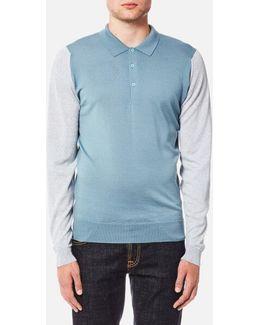 Brightgate 30 Gauge Merino Long Sleeve Polo Shirt