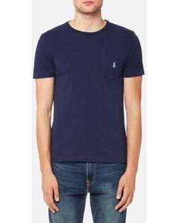 Men's Crew Neck Pocket Tshirt