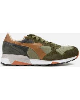 Heritage Men's Trident 90 Nyl Leather/perforated Runner Trainers