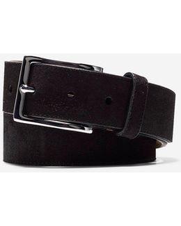 32mm Suede Belt