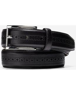 Hamilton Grand 32mm Brogued Belt