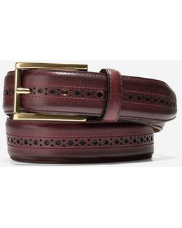 Hamilton Grand 32mm Brogued Belt
