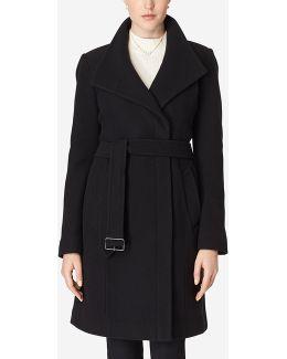 Belted Italian Wool Coat