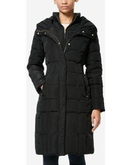 Signature 40-inch Taffeta Down Coat