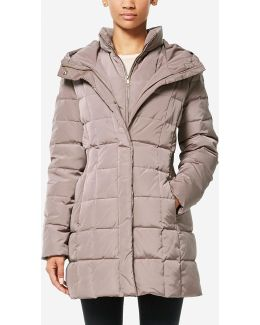 Signature 3-in-1 Taffeta Down Coat