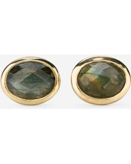 Water Under The Bridge Semi-precious Stud Earrings