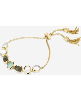 Water Under The Bridge Semi-precious Pull Tie Bracelet