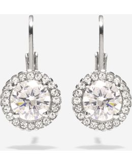 Cz Lever Earrings