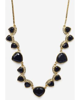 Garden At Midnight 16-inch Frontal Necklace