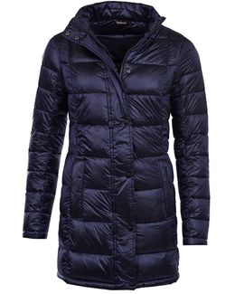 Clyde Ladies Long Quilt Jacket