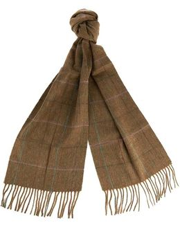 Sporting Ladies Tweed Scarf