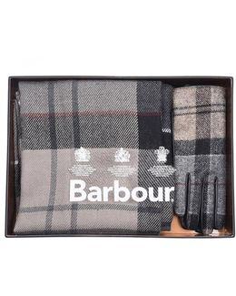 Tartan Ladies Scarf & Glove Gift Set