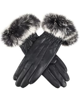 Vanessa Tipped Fur Ladies Glove