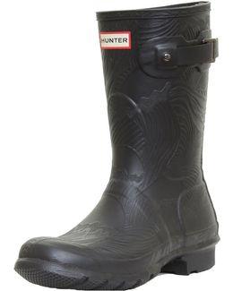 Original Short Wave Texture Ladies Wellington Boots
