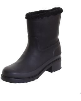 Original Shearling Lined Leather Ankle Ladies Boot