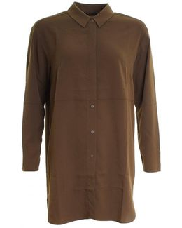 Samantha Crepe Oversized Ladies Shirt