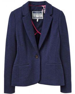 Justine Ladies Textured Blazer (w)