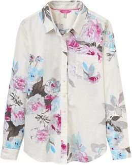 Lucie Semi-fitted Printed Shirt