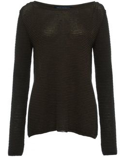 Richter Knits Long Sleeve Slash-neck Womens Jumper