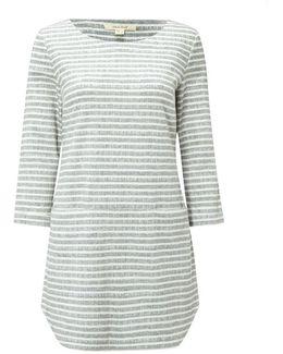 Shashiko Stripe Womens Jersey Tunic