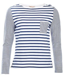 Barnacle Stripe Jersey Top