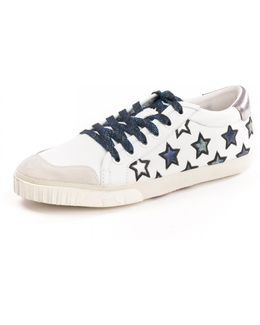 Majestic Star Motif Womens Trainers