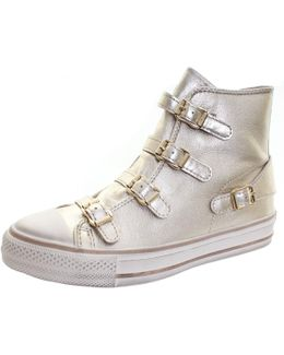 Virgin Buckle Womens High Top Boot