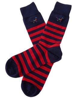 Macrath Stripe Socks